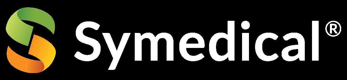 Symedical LogoHorizontal White